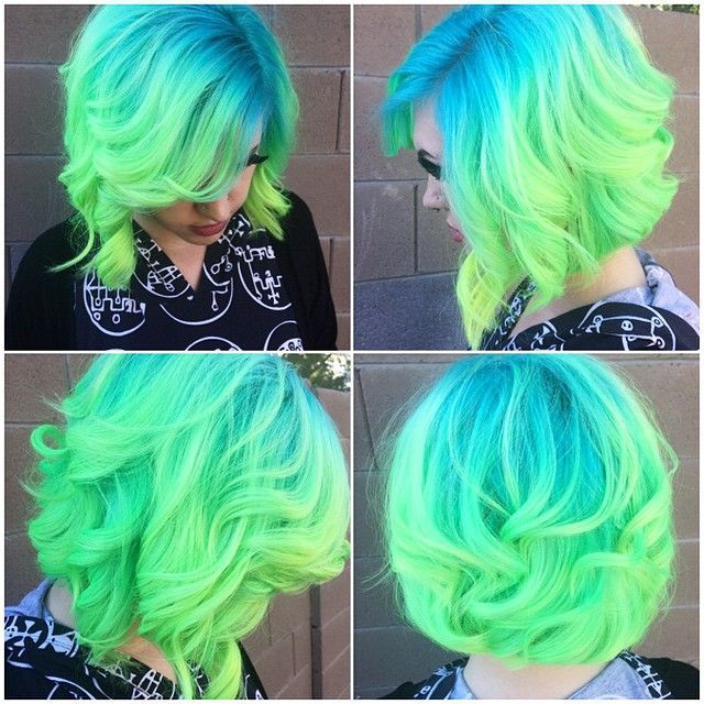 Blue Green Hair Pictures, Photos, and Images for Facebook ...