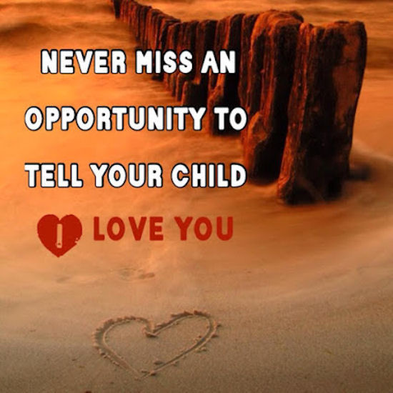 I Love You More Than Quotes: Tell Your Kid I Love You Pictures, Photos, And Images For