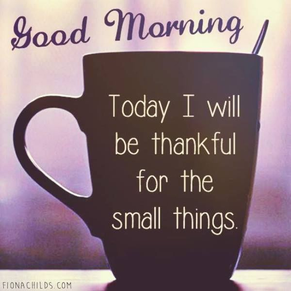 Image result for good morning be thankful quotes