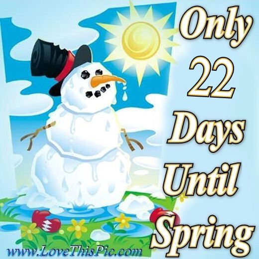 22 Days Until Spring Pictures, Photos, and Images for ...