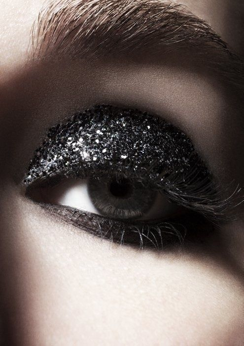 Black Glitter Eye Makeup Pictures, Photos, and Images for ...