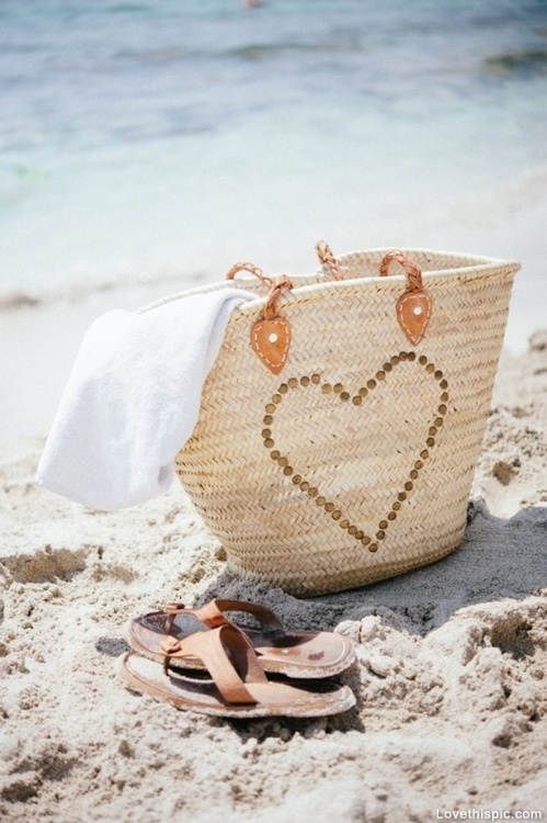 Heart Beach Bag Pictures, Photos, and Images for Facebook, Tumblr ...