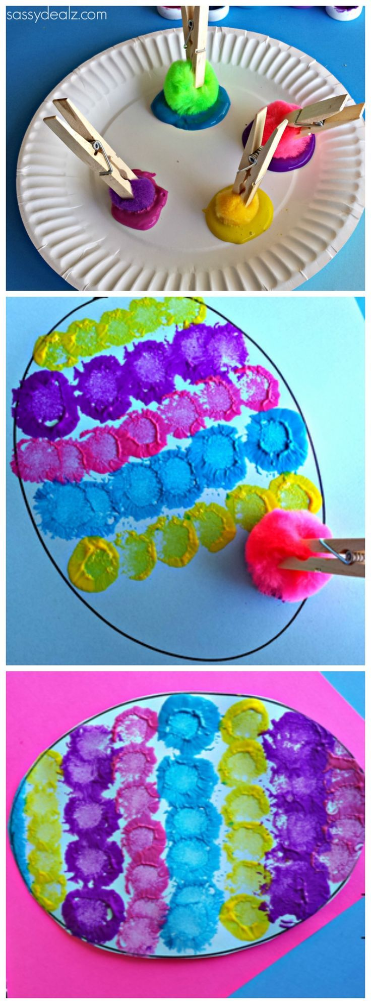 Easter Egg Paper Plate Craft Pictures, Photos, and Images for Facebook ...