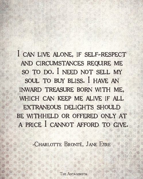 CAN LIVE ALONE Jane Eyre Pictures, Photos, and Images for Facebook ...