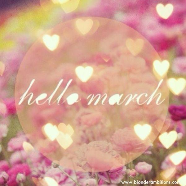 159144 Hello March بوستات عن شهر مارس صور عن شهر مارس 3