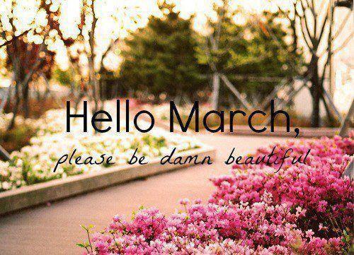 159213 Hello March Be Beautiful بوستات عن شهر مارس صور عن شهر مارس 3