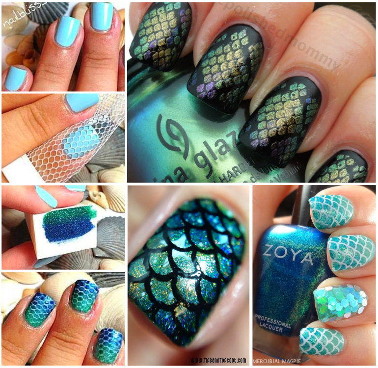 DIY Mermaid Nails Pictures, Photos, and Images for Facebook, Tumblr ...