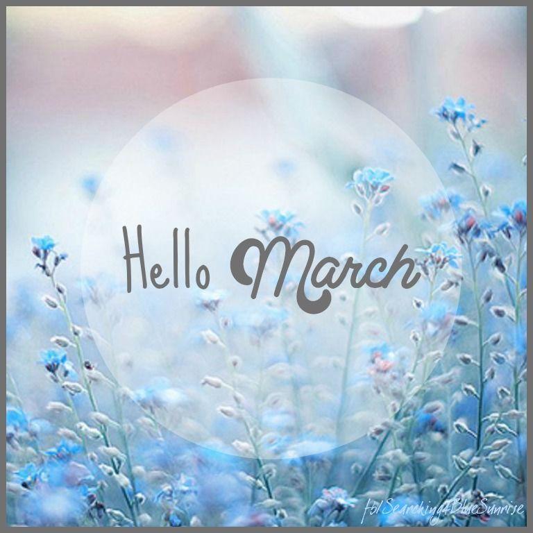159327 Hello March بوستات عن شهر مارس صور عن شهر مارس 3