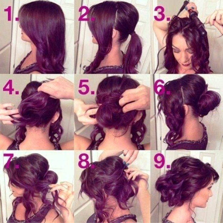 Miraculous How To Do Updos For Long Hair Prom Short Hair Fashions Hairstyles For Women Draintrainus