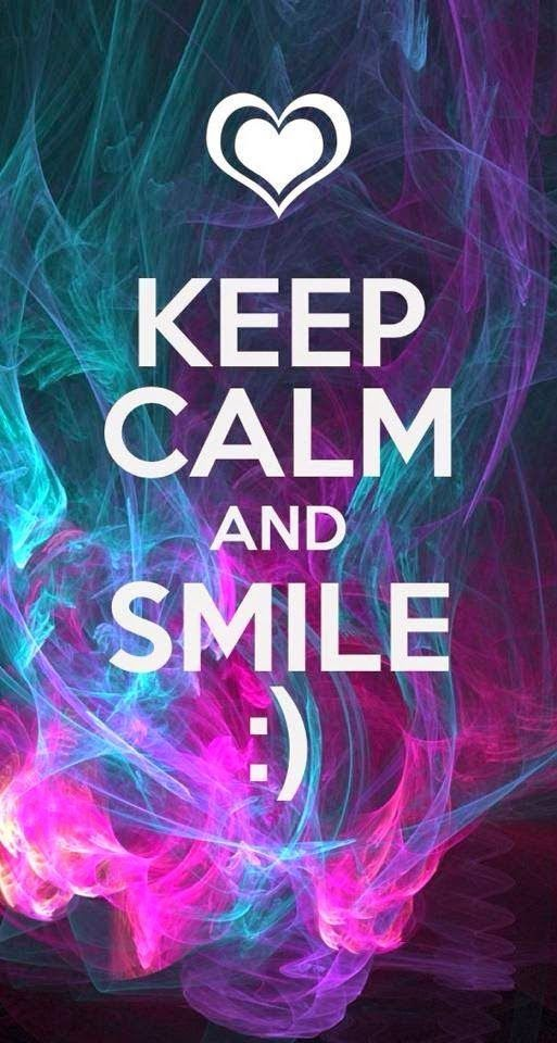 Keep Calm And Smile Quotes: Keep Calm And Smile Pictures, Photos, And Images For