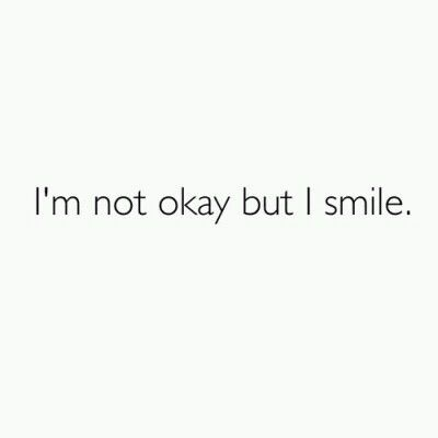 i m not ok but i smile pictures photos and images for facebook