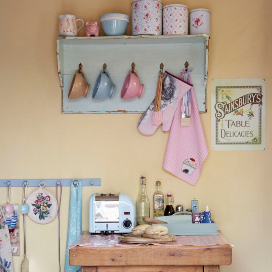 Beautiful Country Kitchen Pictures Photos And Images For Facebook Tumblr Pinterest And Twitter: Vintage Pastel Kitchen Pictures, Photos, And Images For
