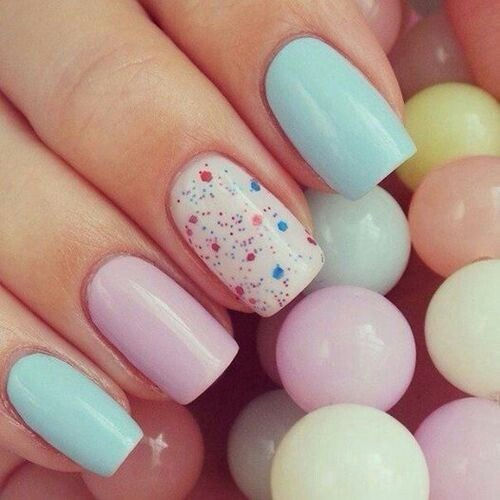 Cute pastel nails for easter pictures photos and images for cute pastel nails for easter prinsesfo Choice Image