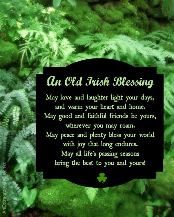 An Old Irish Blessing Pictures, Photos, And Images For