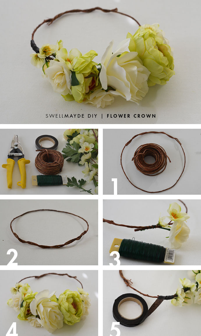 Diy flower crown pictures photos and images for facebook tumblr diy flower crown izmirmasajfo