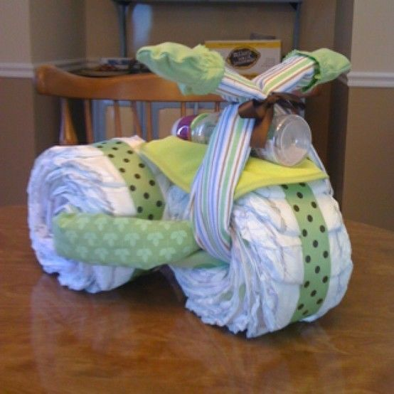 Things To Do With Diapers For A Baby Shower: Diaper Bike Pictures, Photos, And Images For Facebook