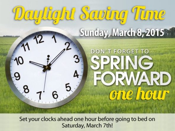 Daylight savings march 8 2015 pictures photos and images for When was daylight savings time started