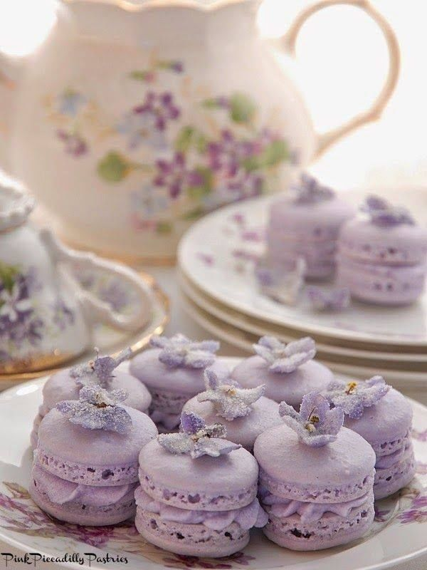 Lavender Macaroons Pictures, Photos, and Images for ...