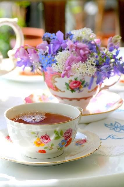 Cup of Flowers & a Cup of Tea