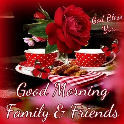 Good Morning Family Pictures : Good morning family friends pictures photos and images