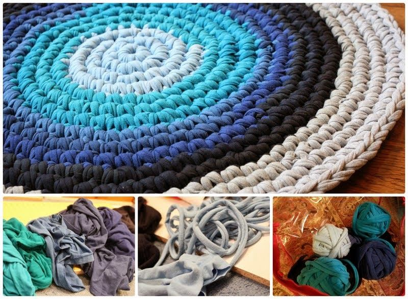 Diy Rug From Old Clothes Pictures Photos And Images For
