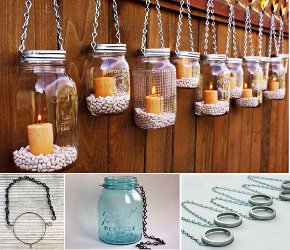 DIY Mason Jar Candles Pictures, Photos, and Images for Facebook