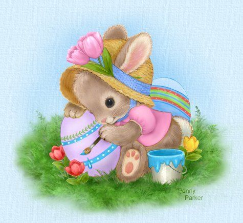 Easter Bunny By Penny Parker Pictures Photos And Images