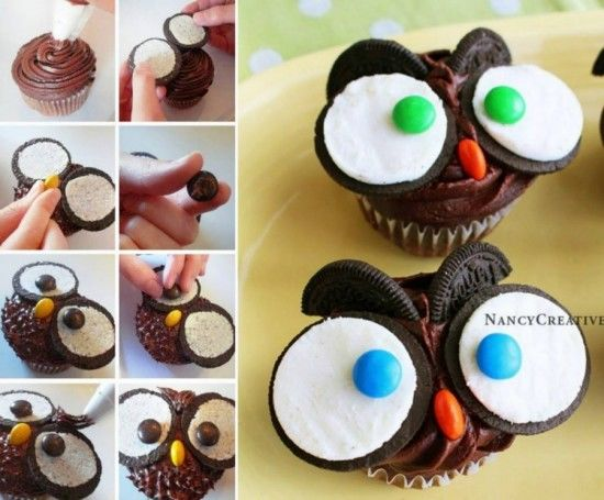 Owl Cupcakes Pictures Photos and Images for Facebook Tumblr