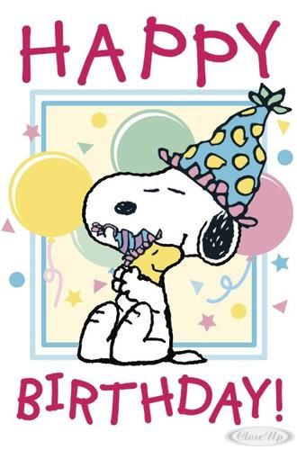 Snoopy happy birthday pictures photos and images for - Free snoopy images ...