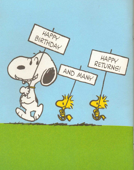 Snoopy Happy Birthday Pictures Photos And Images For Facebook