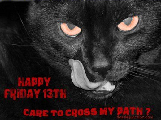 Happy Friday The 13th Black Cat Pictures, Photos, and Images for Facebook,  Tumblr, Pinterest, and Twitter