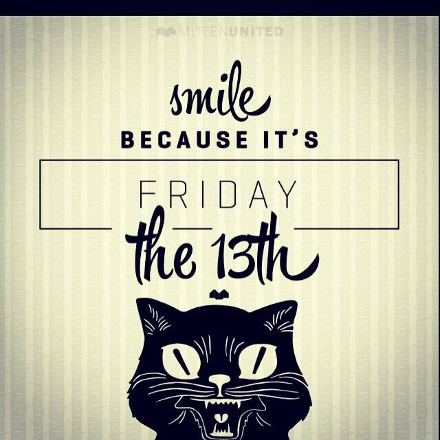 Quotes About Friday The 13th: Smile Its Friday The 13th Pictures, Photos, And Images For
