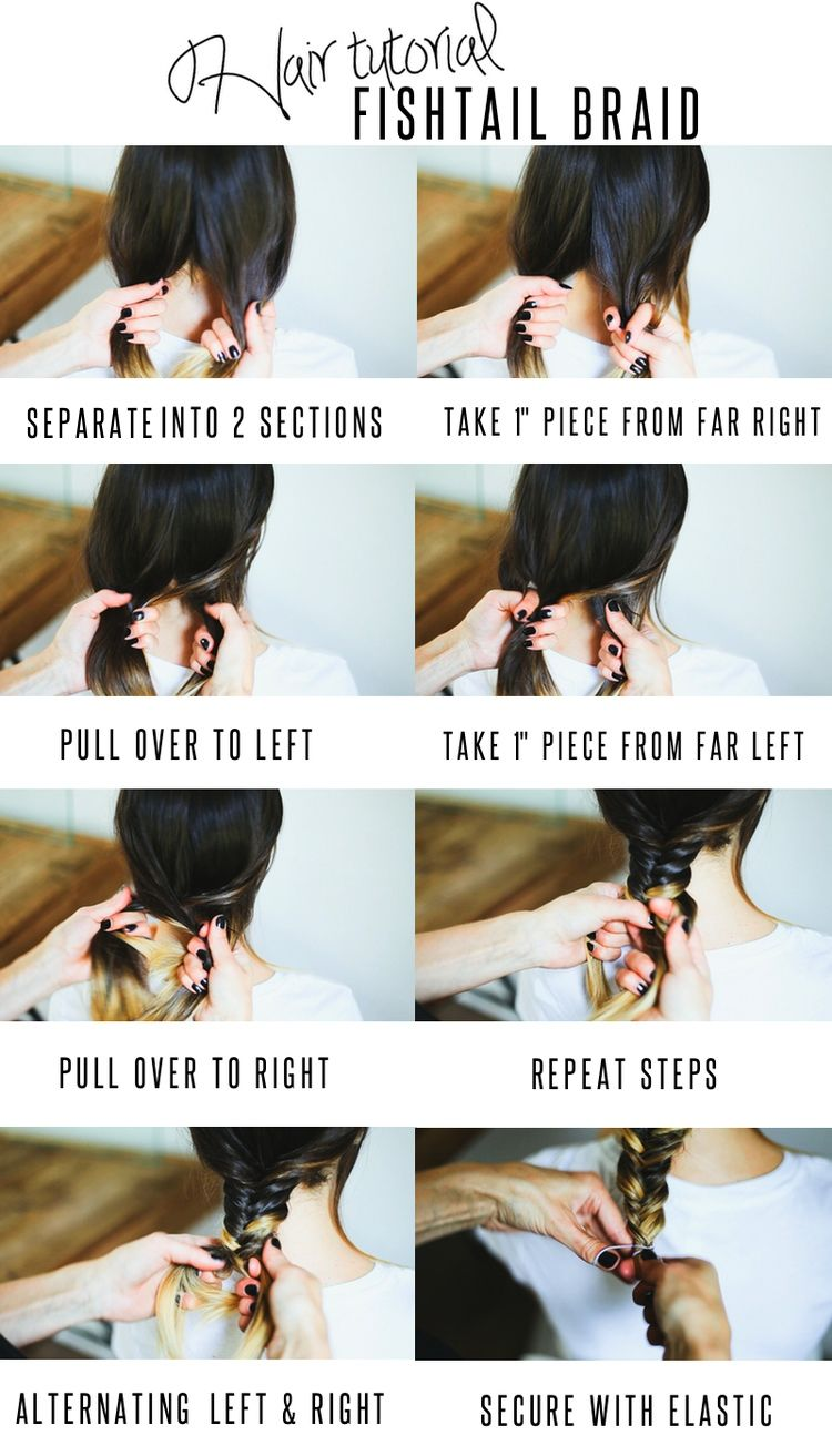 Fishtail Braid Hair Tutorial Pictures Photos And Images For