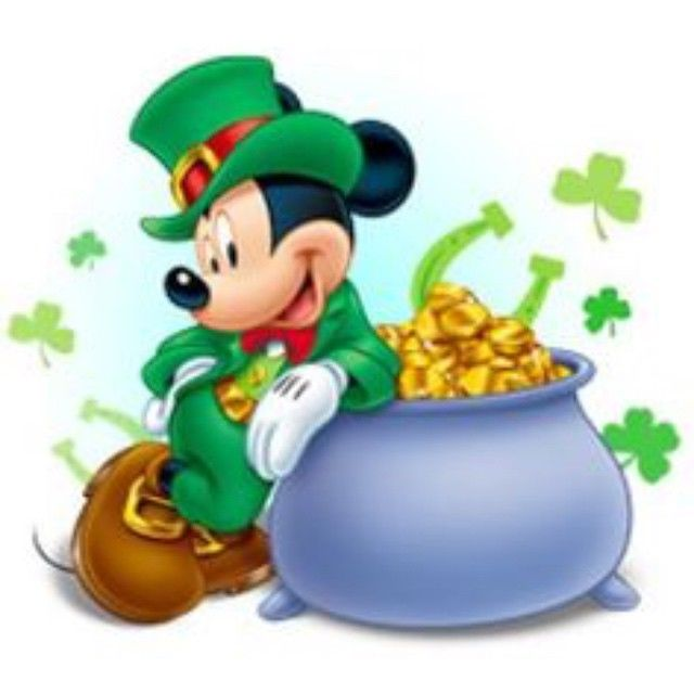 ST Patricks Day Mickey Mouse Pictures Photos And Images For