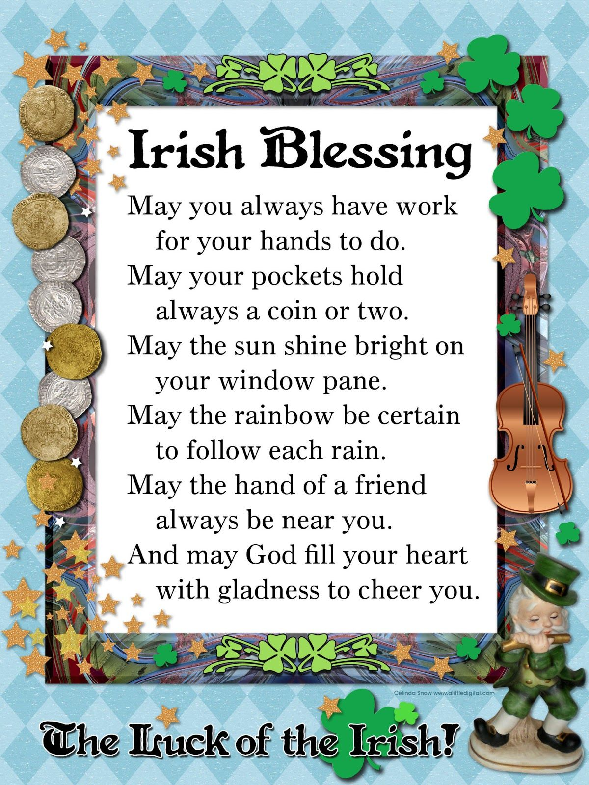 irish blessings quote