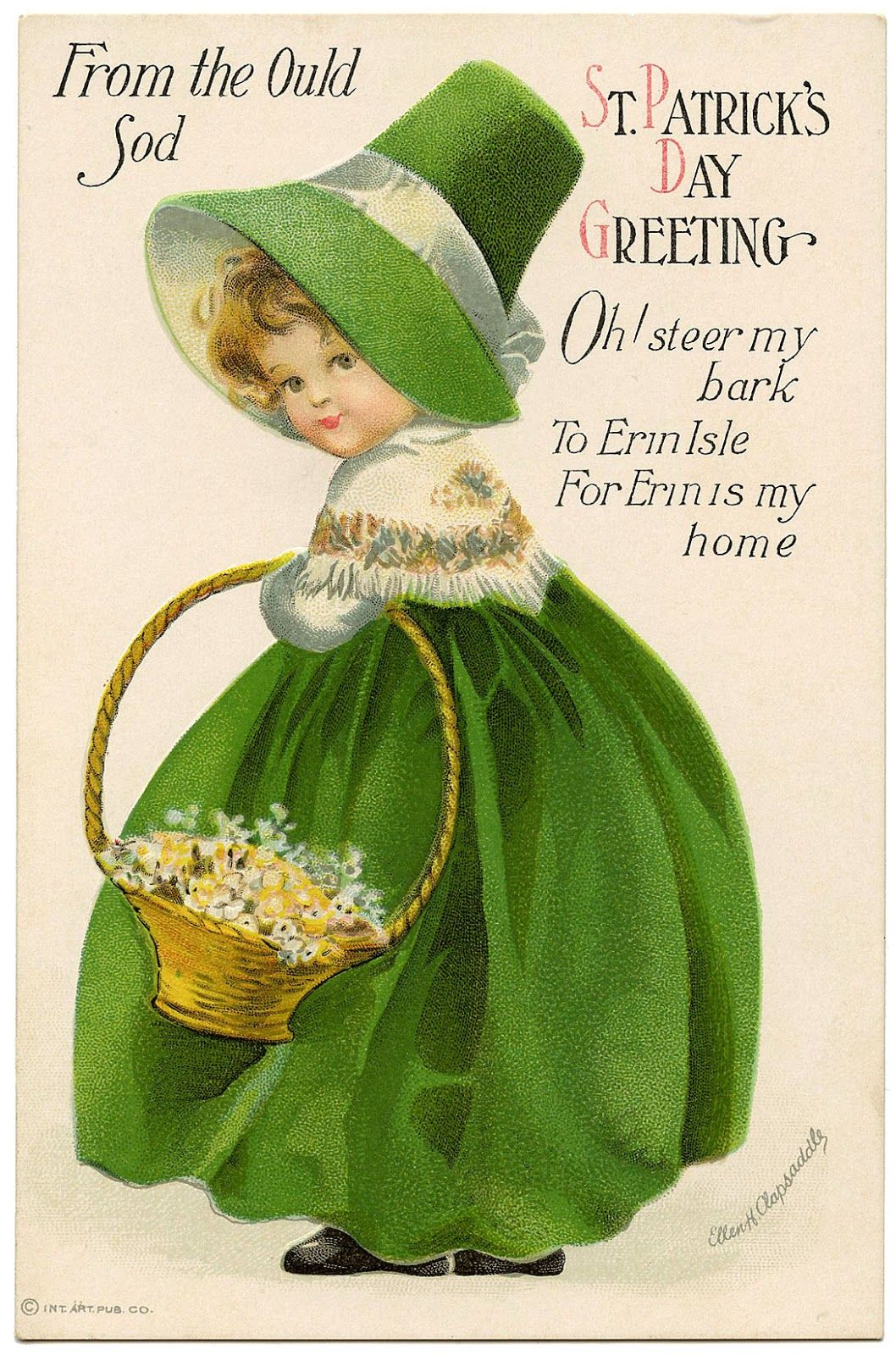 Vintage St Patricks Day Greetings Pictures Photos And Images For
