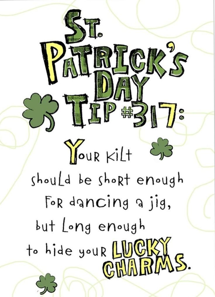 St patrick 39 s day tip pictures photos and images for for Funny tip of the day quotes