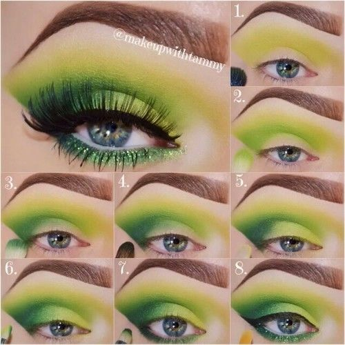 St Patrick S Day Eye Makeup Pictures