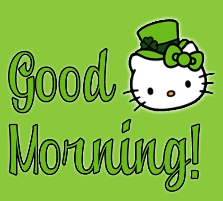 Hi Good Morning Quotes: Good Morning Hello Kitty Pictures, Photos, And Images For