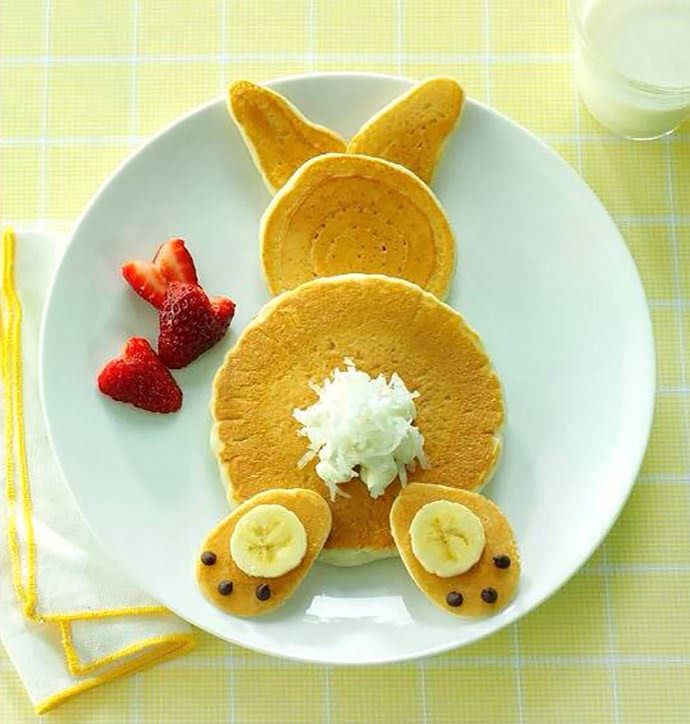Easter Bunny Pancakes Pictures Photos And Images For