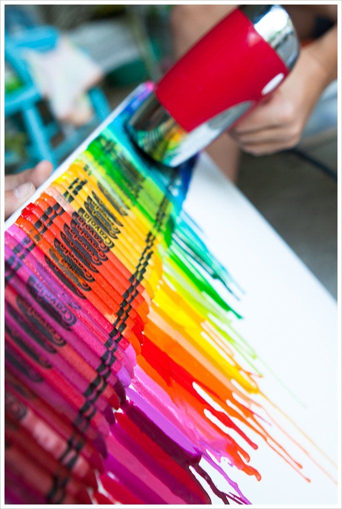 Diy melted crayon art pictures photos and images for facebook diy melted crayon art solutioingenieria Image collections