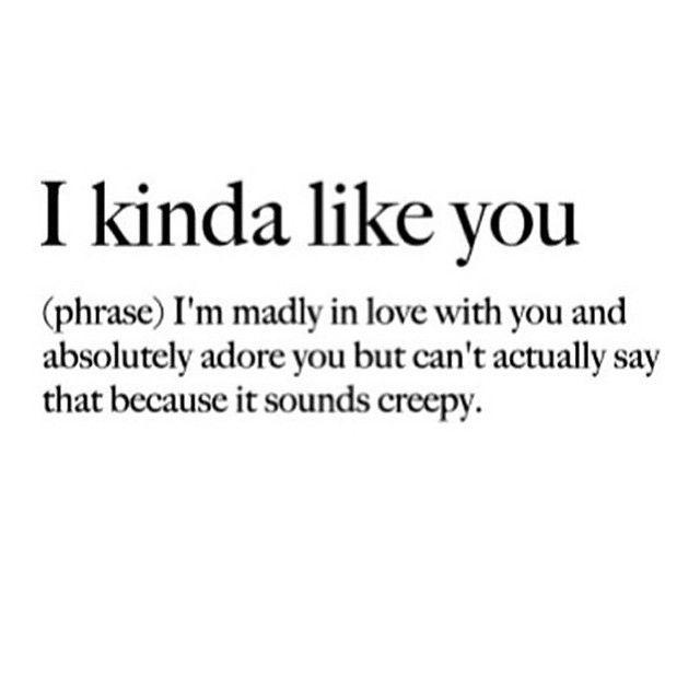 i kinda like