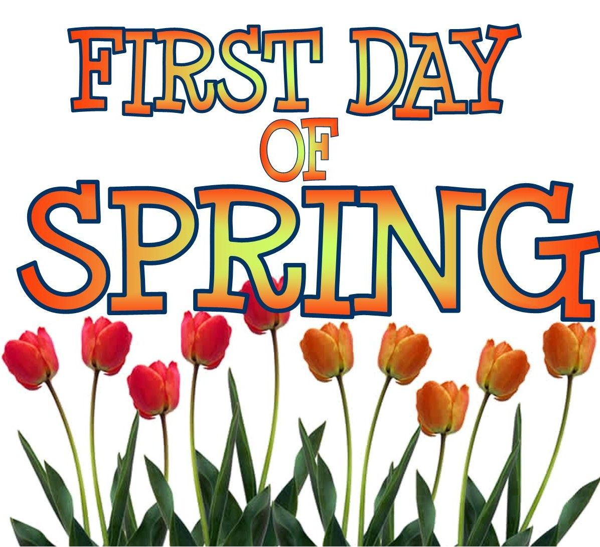 first day of spring pictures  photos  and images for happy first day of spring clipart first day of spring clipart black and white