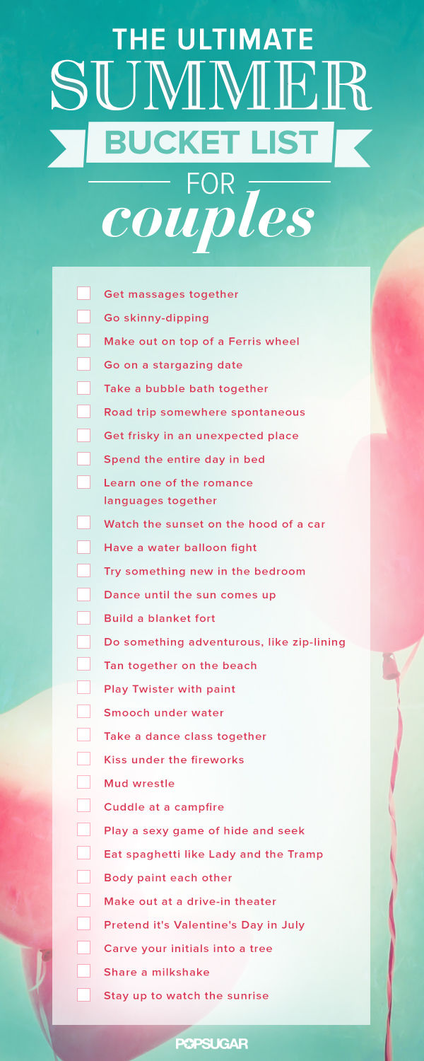 Summer Bucket List For Couples Pictures, Photos, and ...