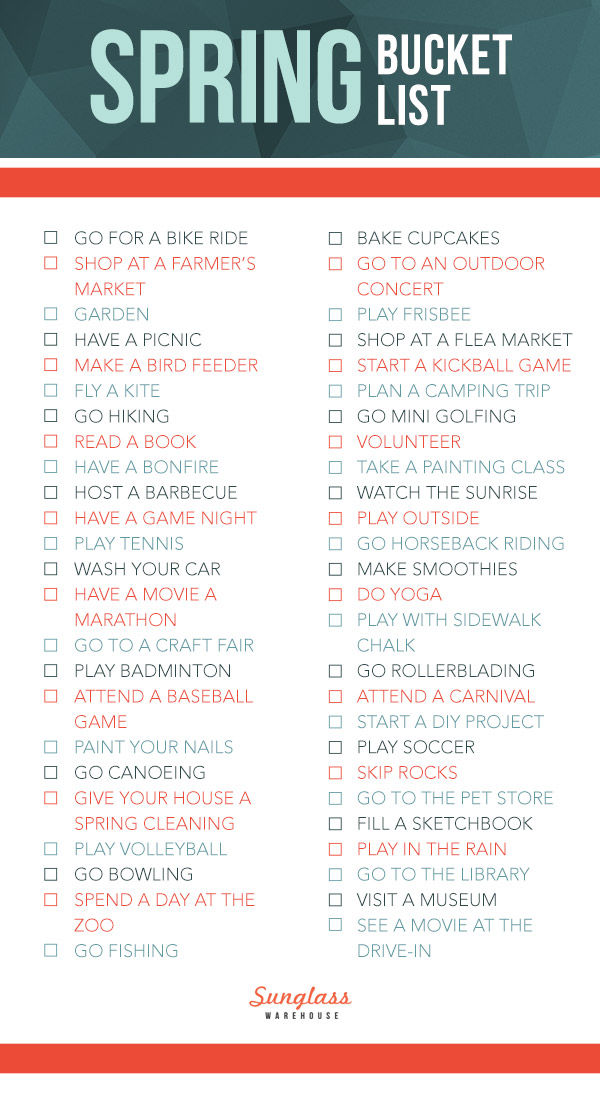 Spring Bucket List Pictures Photos And Images For