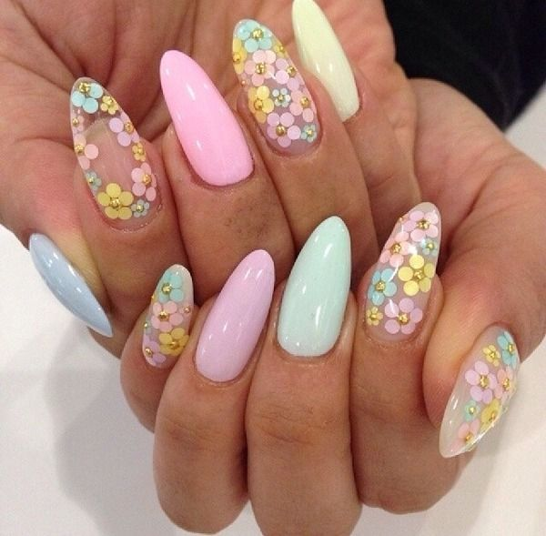 Easter Stiletto Nails Pictures Photos And Images For