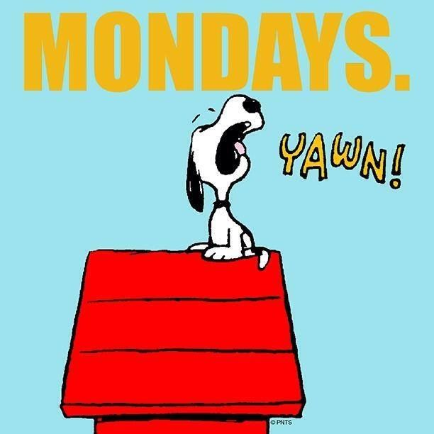 Happy Days Are Here Again Quotes: Mondays Yawn Pictures, Photos, And Images For Facebook