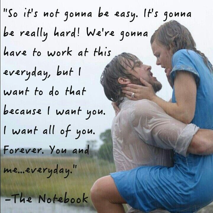 love quotes from the notebook movie wwwimgkidcom the