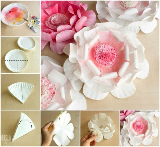 Diy paper plate flowers pictures photos and images for facebook diy paper plate flowers mightylinksfo