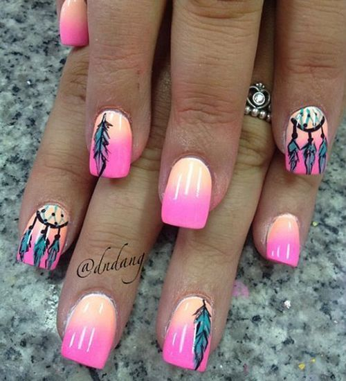 Pretty Nail Art Tumblr: Pretty Summer Nails Pictures, Photos, And Images For